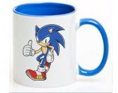 SONIC THE HEDGEHOG Ceramic Coffee Mug CUP 11oz