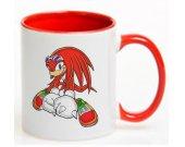 SONIC THE HEDGEHOG Knuckles Ceramic Coffee Mug CUP 11oz