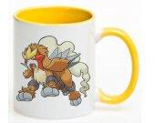Pokemon Entei Ceramic Coffee Mug CUP 11oz