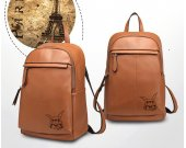 Digimon Guilmon Genuine Leather Backpack