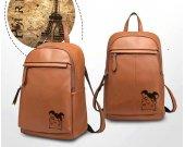 Hamtaro Genuine Leather Backpack