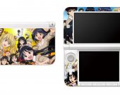 School Rumble Nintendo 3DS XL LL Vinyl Skin Decal Sticker
