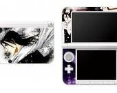 BLEACH BYAKUYA KUCHIKI Nintendo 3DS XL LL Vinyl Skin Decal Sticker