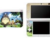 MY NEIGHBOR TOTORO  Nintendo 3DS XL LL Vinyl Skin Decal Sticker