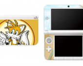 SONIC THE HEDGEHOG TAILS Nintendo 3DS XL LL Vinyl Skin Decal Sticker