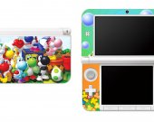 Yoshi  Nintendo 3DS XL LL Vinyl Skin Decal Sticker