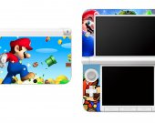 Mario Nintendo 3DS XL LL Vinyl Skin Decal Sticker