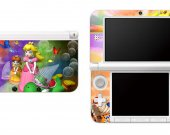 Mario Princess Peach Nintendo 3DS XL LL Vinyl Skin Decal Sticker 2