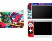 Megaman Zero Nintendo 3DS XL LL Vinyl Skin Decal Sticker