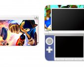Sonic The Hedgehog Nintendo 3DS XL LL Vinyl Skin Decal Sticker