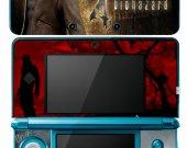 Resident Evil Biohazard 4 Nintendo 3DS Vinyl Skin Sticker Decal