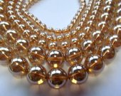 high quality champagne quartz beads, 10mm 5strands 16inch strand,round ball crystal gorgeous jewelry beads