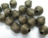 wholesale diamond sharp metal spacer silver gold bronze antique black mixed jewelry connectors 10mm 100pcs