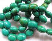 high quality  turquoise gemstone nuggets freeform  barrel  tibetant jewelry beads 13-18mm--2strands 16inch/L