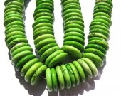 5strands 6 8 10 12 14 16mm high quality bulk turquoise stone  heishi  green olive  accortment jewelry  beads