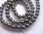 genuine rock crysal quartz 8mm 5strands 16inch strand,high quality round ball grey gorgeous jewelry beads
