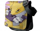 Digimon Renamon  Messenger Shoulder Bag