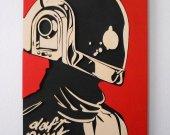 Handmade Guy-Manuel, Daft Punk wall art
