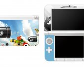 Mario Bill Nintendo 3DS XL LL Vinyl Skin Decal Sticker