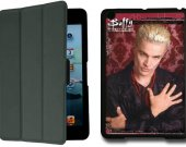 BUFFY THE VAMPIRE SLAYER Spike IPad Mini 1 Black Protective Fold Smart Cover Case