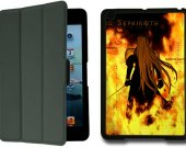 FINAL FANTASY VII Advent Children SEPHIROTH IPad Mini 1 Black Protective Fold Smart Cover Case