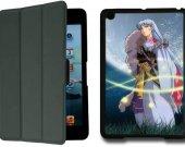 Inuyasha Sesshoumaru IPad Mini 1 Black Protective Fold Smart Cover Case