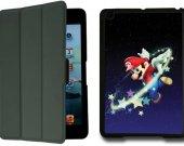 Mario IPad Mini 1 Black Protective Fold Smart Cover Case