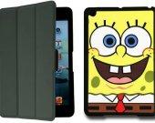 Spongebob Squarepants  IPad Mini 1 Black Protective Fold Smart Cover Case