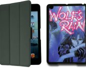 Wolf's Rain  IPad Mini 1 Black Protective Fold Smart Cover Case
