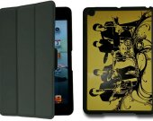 The Beatles IPad Mini 1 Black Protective Fold Smart Cover Case