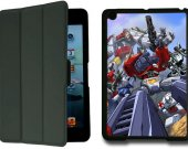 Transformers OPTIMUS PRIME IPad Mini 1 Black Protective Fold Smart Cover Case