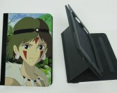 The Princess Mononoke  Ipad Mini 2 / 3 Protective Fold Leather Smart Cover case