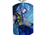 Kingdom hearts Riku Dog Tag Pendant Necklace