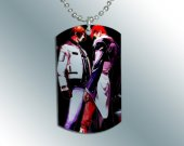 King of Fighters KOF 3  Dog Tag Pendant Necklace