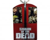 SHAUN OF THE DEAD Dog Tag Pendant Necklace