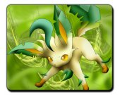 Pokemon Leafeon  MOUSEPAD Mouse Mat Pad