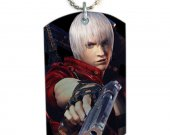 Devil May Cry  Dog Tag Pendant Necklace