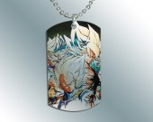 Dragonball Z GT  Dog Tag Pendant Necklace