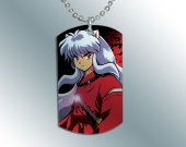 Inuyasha Dog Tag Pendant Necklace