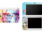 My Little Pony Nintendo 3DS XL LL Vinyl Skin Decal Sticker