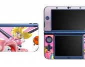 Mario Princess Peach NEW Nintendo 3DS XL LL Vinyl Skin Decal Sticker