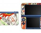 Okami Amaterasu Wolf  NEW Nintendo 3DS XL LL Vinyl Skin Decal Sticker