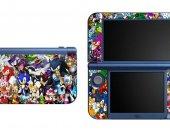 SONIC THE HEDGEHOG NEW Nintendo 3DS XL LL Vinyl Skin Decal Sticker