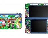 Animal Crossing NEW Nintendo 3DS XL LL Vinyl Skin Decal Sticker