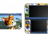 SONIC THE HEDGEHOG TAILS NEW Nintendo 3DS XL LL Vinyl Skin Decal Sticker