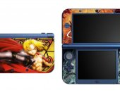 Fullmetal Alchemist NEW Nintendo 3DS XL LL Vinyl Skin Decal Sticker