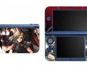FINAL FANTASY VII 7 NEW Nintendo 3DS XL LL Vinyl Skin Decal Sticker