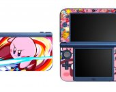 Kirby NEW Nintendo 3DS XL LL Vinyl Skin Decal Sticker