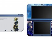 KINGDOM HEARTS Sora NEW Nintendo 3DS XL LL Vinyl Skin Decal Sticker