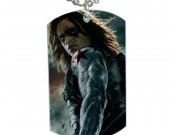 Winter Soldier Dog Tag Pendant Necklace